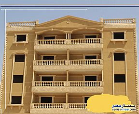 Ad Photo: Apartment 3 bedrooms 2 baths 130 sqm semi finished in New Heliopolis  Cairo