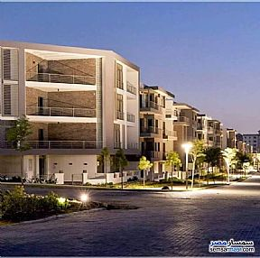 Ad Photo: Apartment 3 bedrooms 2 baths 166 sqm semi finished in First Settlement  Cairo