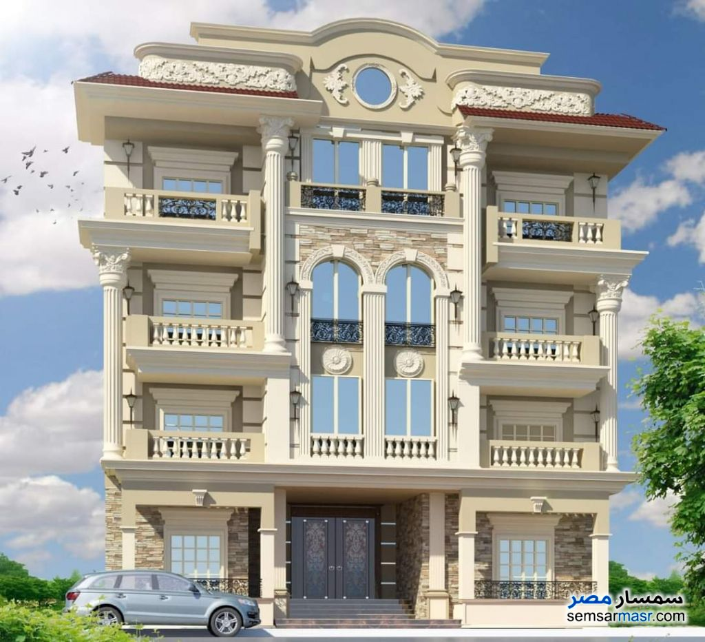 Ad Photo: Apartment 4 bedrooms 4 baths 305 sqm semi finished in North Extensions  6th of October