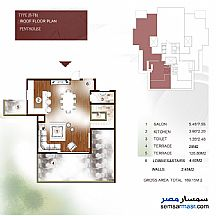 Apartment 3 bedrooms 2 baths 170 sqm extra super lux For Sale New Capital Cairo - 35