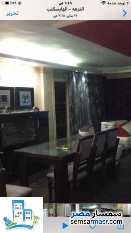 Ad Photo: Apartment 2 bedrooms 2 baths 185 sqm in New Nozha  Cairo