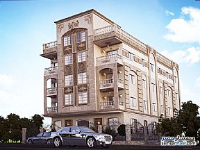 Ad Photo: Apartment 3 bedrooms 2 baths 185 sqm semi finished in Fifth Settlement  Cairo
