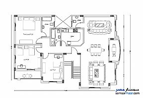 Apartment 3 bedrooms 3 baths 200 sqm semi finished For Sale Shorouk City Cairo - 2