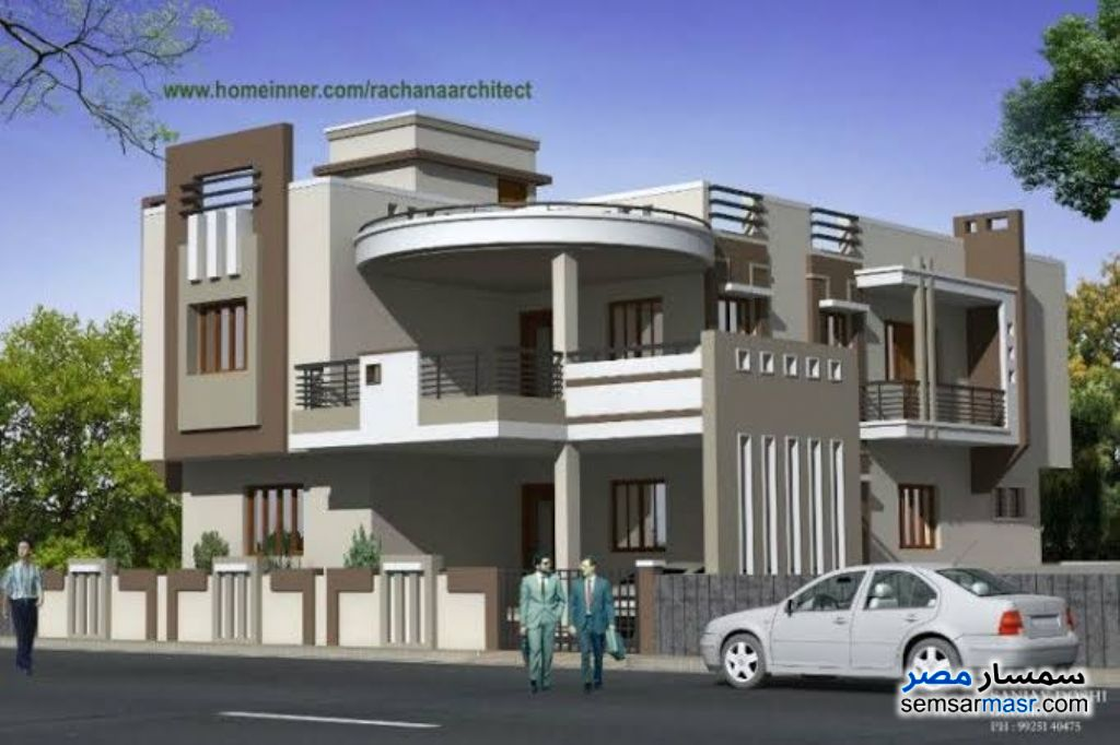Ad Photo: Apartment 3 bedrooms 3 baths 200 sqm semi finished in Mukhabarat Land  6th of October