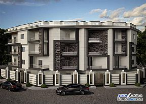Ad Photo: Apartment 3 bedrooms 3 baths 205 sqm semi finished in Shorouk City  Cairo