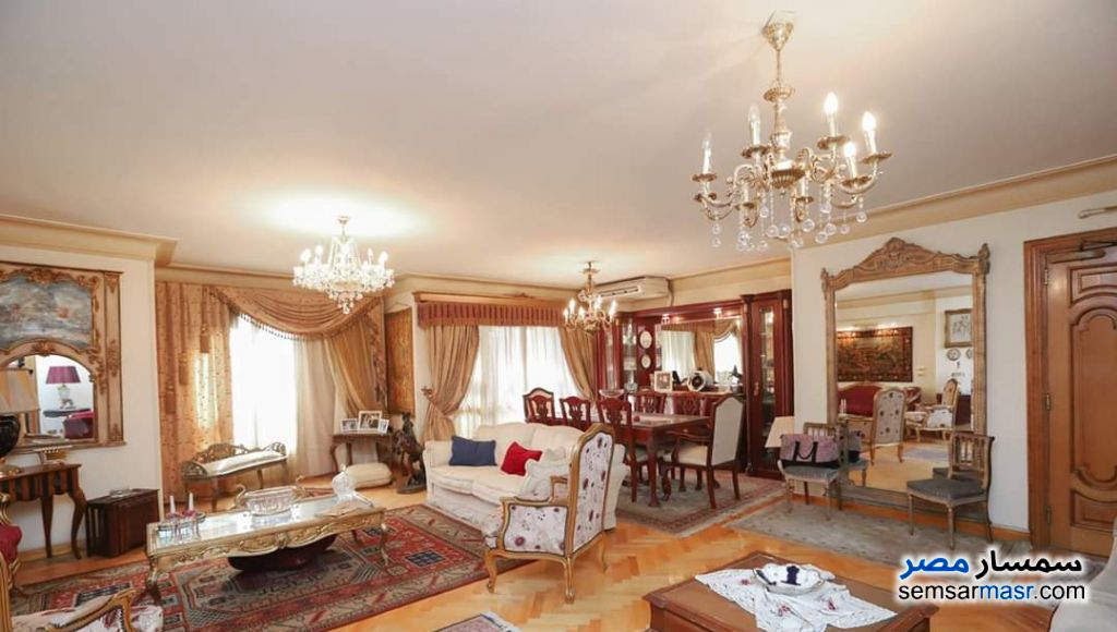 Photo 1 - Apartment 4 bedrooms 3 baths 260 sqm extra super lux For Sale Al Lbrahimiyyah Alexandira