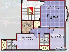 Ad Photo: Apartment 2 bedrooms 2 baths 95 sqm semi finished in Al Salam City  Cairo