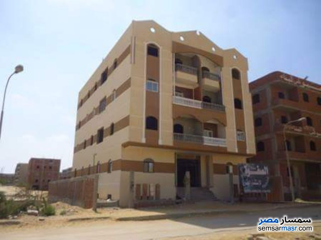 Photo 2 - Apartment 3 bedrooms 1 bath 130 sqm semi finished For Sale Badr City Cairo