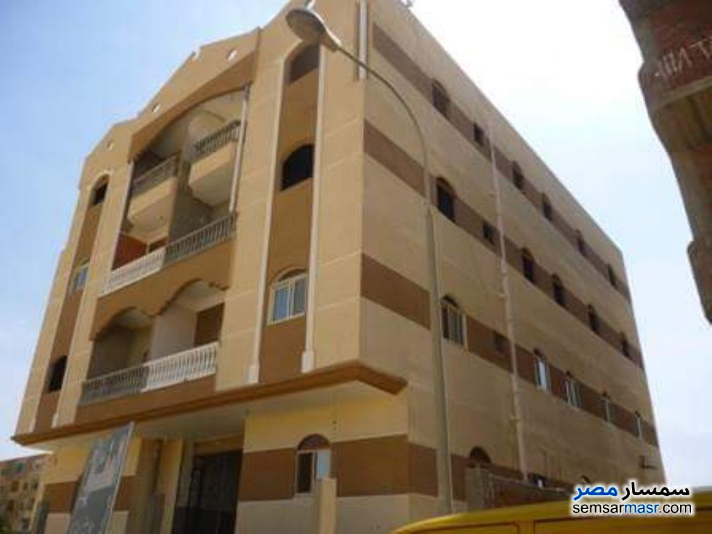 Photo 1 - Apartment 3 bedrooms 1 bath 130 sqm semi finished For Sale Badr City Cairo
