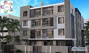 Ad Photo: Apartment 4 bedrooms 2 baths 215 sqm semi finished in Fifth Settlement  Cairo