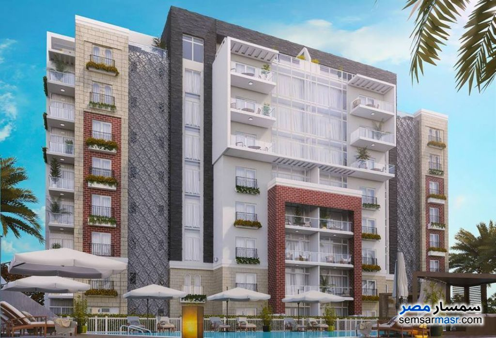 Photo 1 - Apartment 3 bedrooms 2 baths 150 sqm semi finished For Sale New Capital Cairo