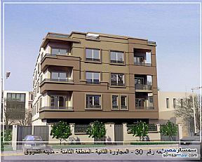 Ad Photo: Apartment 3 bedrooms 2 baths 189 sqm semi finished in Shorouk City  Cairo