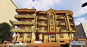 Ad Photo: Apartment 2 bedrooms 1 bath 140 sqm semi finished in New Damietta  Damietta
