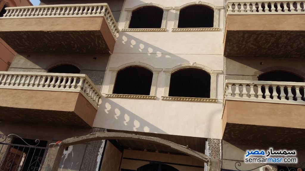 Photo 2 - Apartment 3 bedrooms 1 bath 135 sqm semi finished For Sale Badr City Cairo