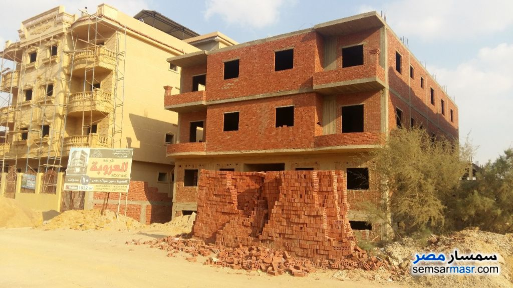 Photo 4 - Apartment 3 bedrooms 1 bath 135 sqm semi finished For Sale Badr City Cairo