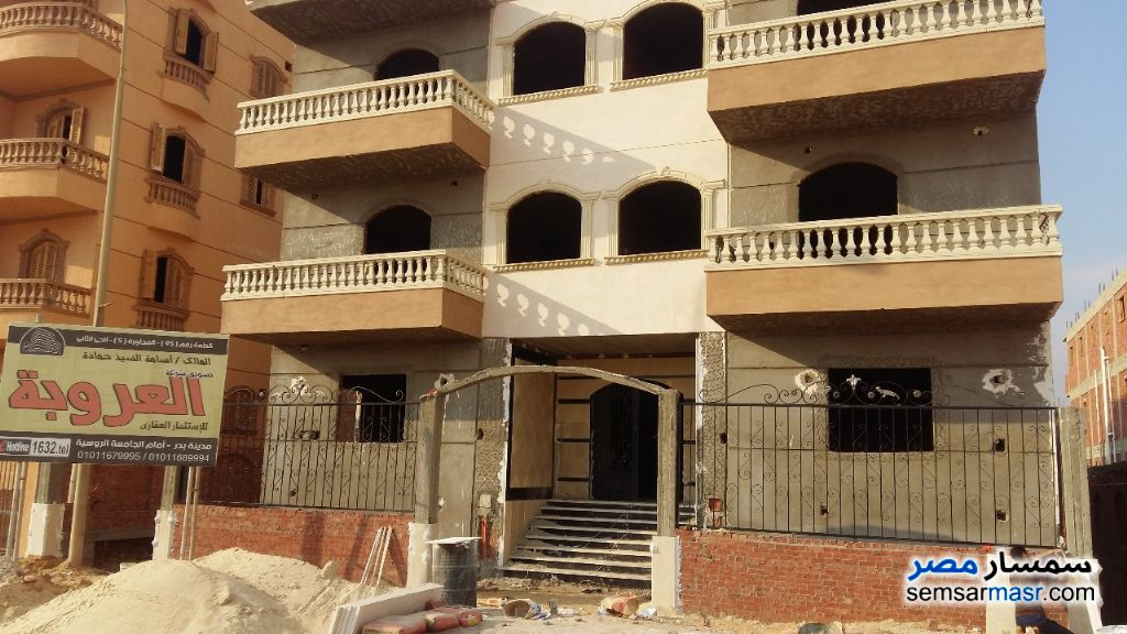 Photo 3 - Apartment 3 bedrooms 1 bath 135 sqm semi finished For Sale Badr City Cairo