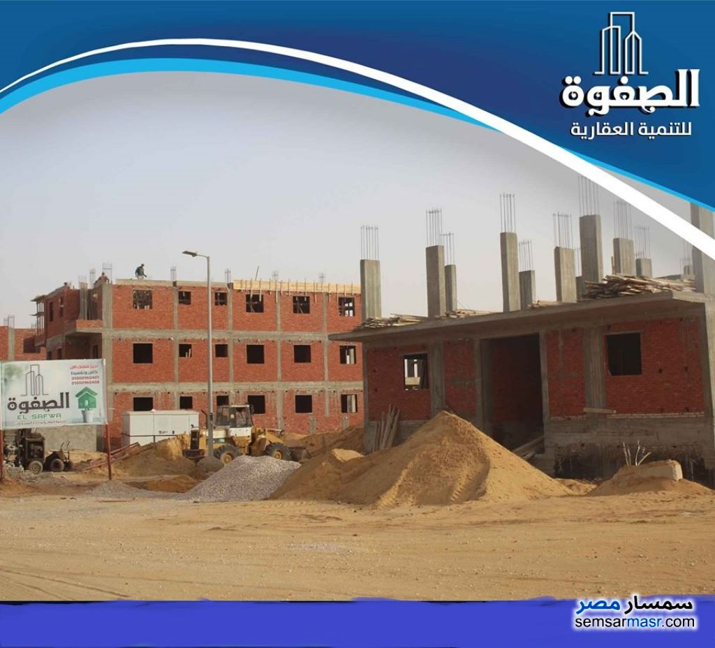 Photo 5 - Apartment 3 bedrooms 2 baths 140 sqm semi finished For Sale Badr City Cairo