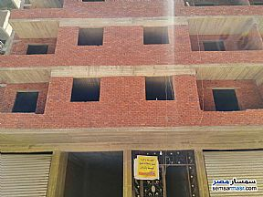 Ad Photo: Apartment 5 bedrooms 2 baths 130 sqm without finish in Helmeya  Cairo