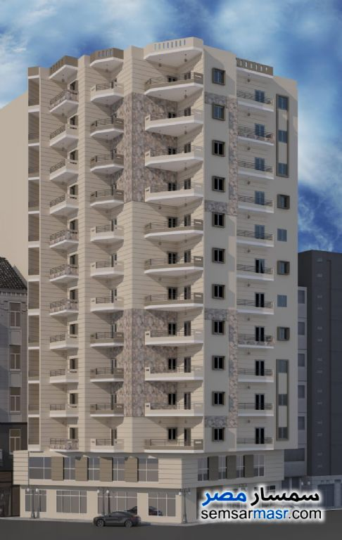 Ad Photo: Apartment 3 bedrooms 1 bath 115 sqm without finish in Minufiyah