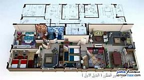 Ad Photo: Apartment 4 bedrooms 2 baths 215 sqm super lux in Sheikh Zayed  6th of October