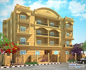 Ad Photo: Apartment 4 bedrooms 3 baths 202 sqm semi finished in Shorouk City  Cairo