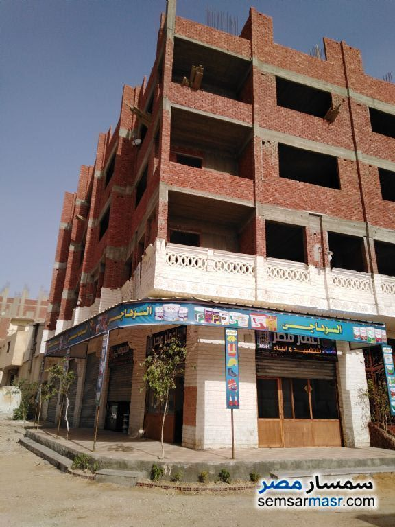 Ad Photo: Apartment 2 bedrooms 1 bath 134 sqm without finish in al salam city Cairo