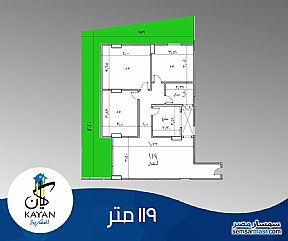 Ad Photo: Apartment 3 bedrooms 1 bath 119 sqm semi finished in Hadayek Al Ahram  Giza