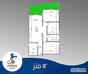 Ad Photo: Apartment 3 bedrooms 1 bath 112 sqm semi finished in Hadayek Al Ahram  Giza