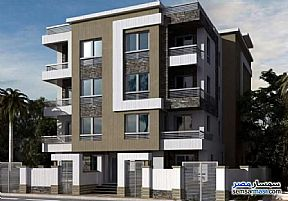 Ad Photo: Apartment 3 bedrooms 2 baths 145 sqm semi finished in October Gardens  6th of October