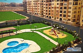 Apartment 3 bedrooms 1 bath 126 sqm semi finished For Sale Katameya Cairo - 1