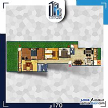 Ad Photo: Apartment 4 bedrooms 3 baths 200 sqm semi finished in North Extensions  6th of October