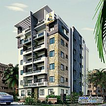Ad Photo: Apartment 6 bedrooms 2 baths 180 sqm semi finished in October Gardens  6th of October