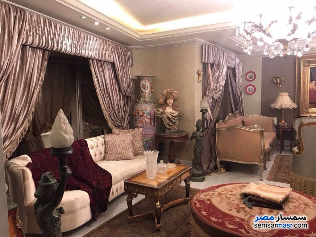 Photo 4 - Apartment 5 bedrooms 6 baths 440 sqm extra super lux For Sale Mohandessin Giza