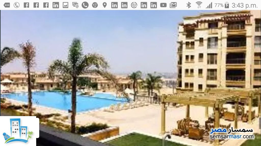 Apartment 2 bedrooms 2 baths 148 sqm extra super lux For Sale Mokattam Cairo - 3
