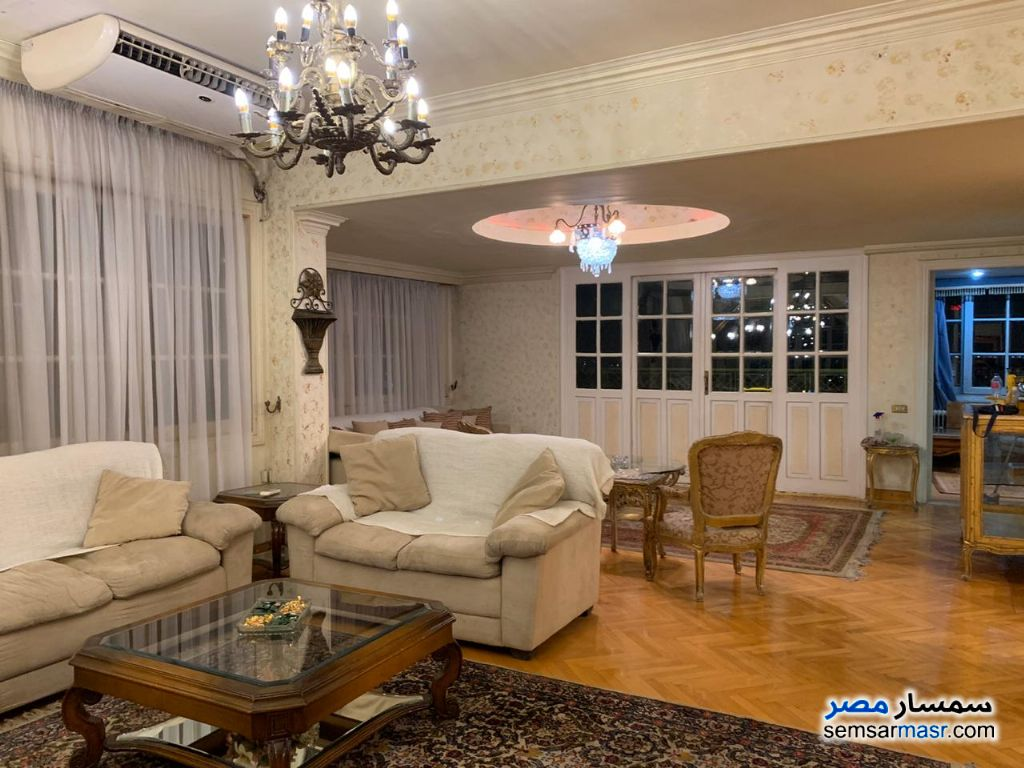 Photo 15 - Apartment 4 bedrooms 3 baths 250 sqm super lux For Rent Zamalek Cairo