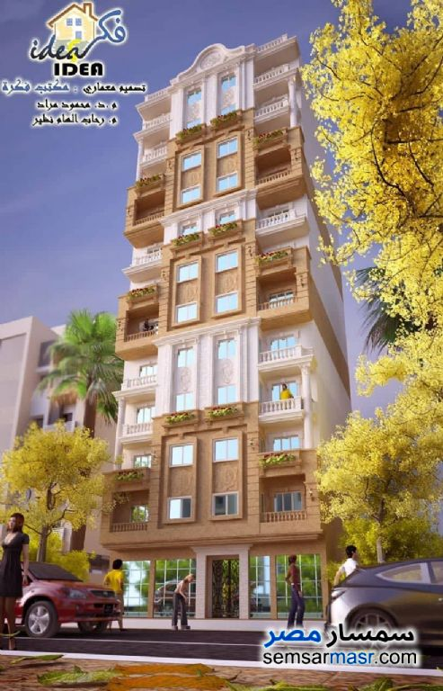 Ad Photo: Apartment 2 bedrooms 1 bath 80 sqm without finish in Asyut City  Asyut