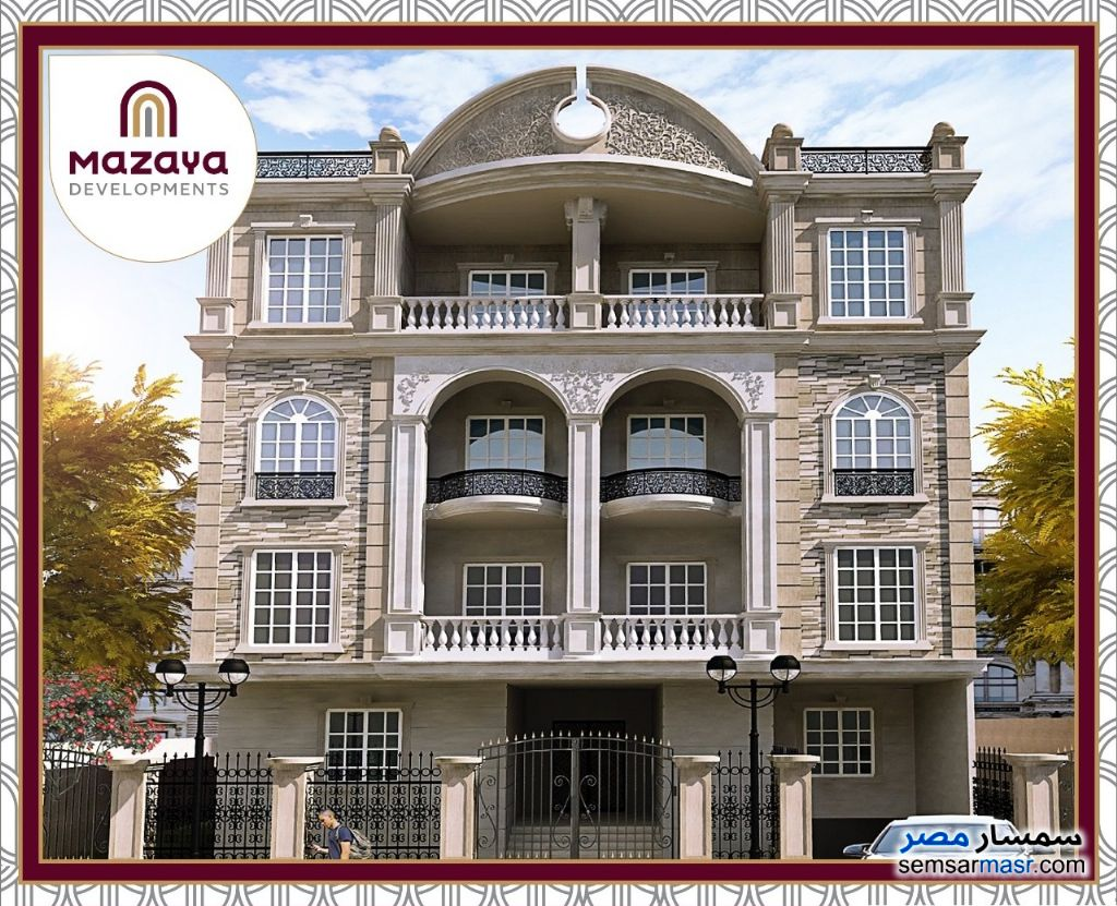 Ad Photo: Apartment 3 bedrooms 3 baths 165 sqm semi finished in New Cairo  Cairo
