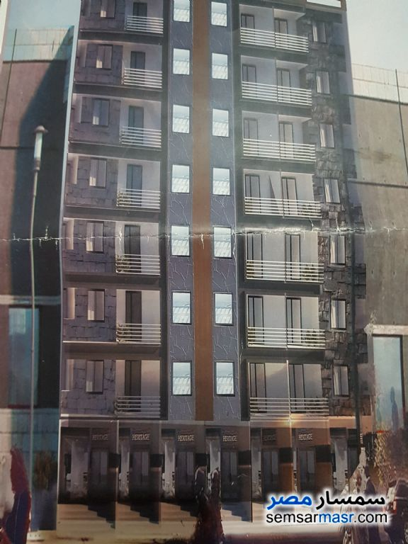 Ad Photo: Apartment 3 bedrooms 1 bath 120 sqm semi finished in Shubra  Cairo