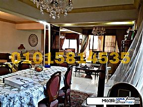 Apartment 3 bedrooms 3 baths 270 sqm lux For Sale Mohandessin Giza - 8