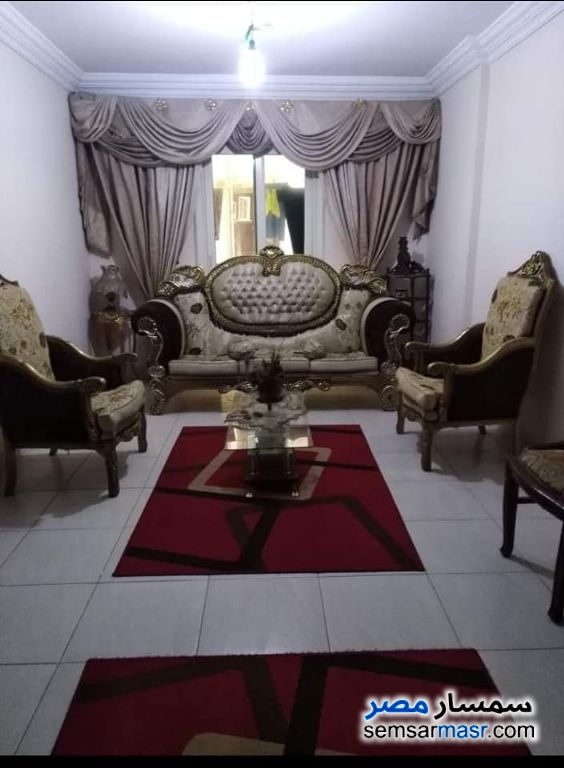 Photo 1 - Apartment 2 bedrooms 1 bath 120 sqm super lux For Rent Al Lbrahimiyyah Alexandira