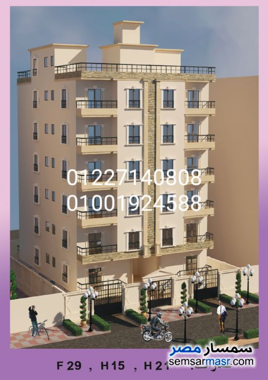 Ad Photo: Apartment 3 bedrooms 2 baths 175 sqm semi finished in Districts  6th of October