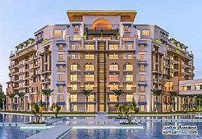 Ad Photo: Apartment 2 bedrooms 2 baths 119 sqm semi finished in New Capital  Cairo
