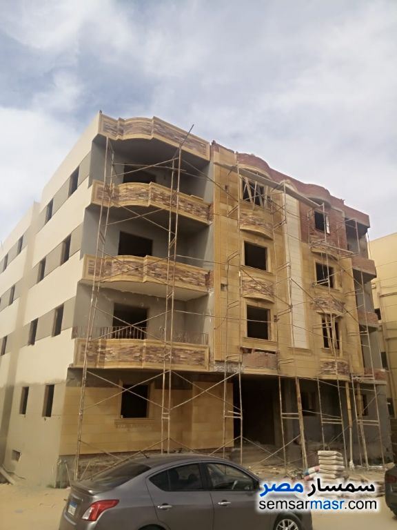 Ad Photo: Apartment 3 bedrooms 1 bath 185 sqm semi finished in El Ubour City  Qalyubiyah