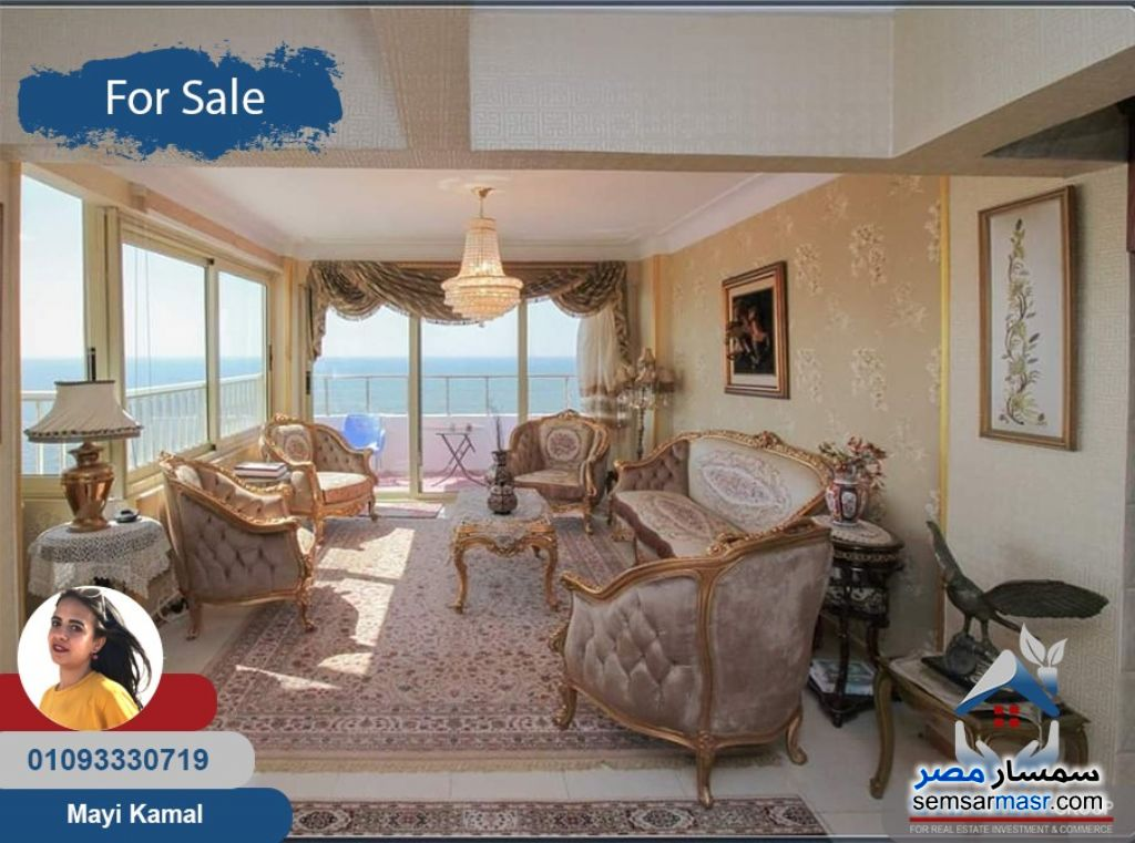 Photo 10 - Apartment 3 bedrooms 2 baths 188 sqm extra super lux For Sale Saba Pasha Alexandira
