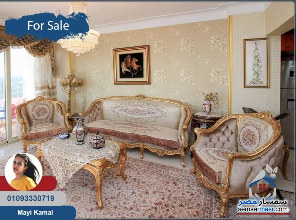 Photo 4 - Apartment 3 bedrooms 2 baths 188 sqm extra super lux For Sale Saba Pasha Alexandira