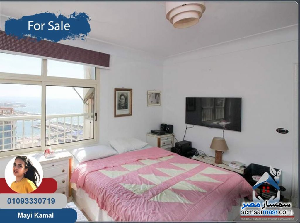 Photo 5 - Apartment 3 bedrooms 2 baths 188 sqm extra super lux For Sale Saba Pasha Alexandira