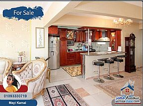 Apartment 3 bedrooms 2 baths 188 sqm extra super lux For Sale Saba Pasha Alexandira - 8