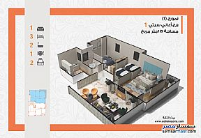 Apartment 3 bedrooms 2 baths 135 sqm semi finished For Sale Banha Qalyubiyah - 1