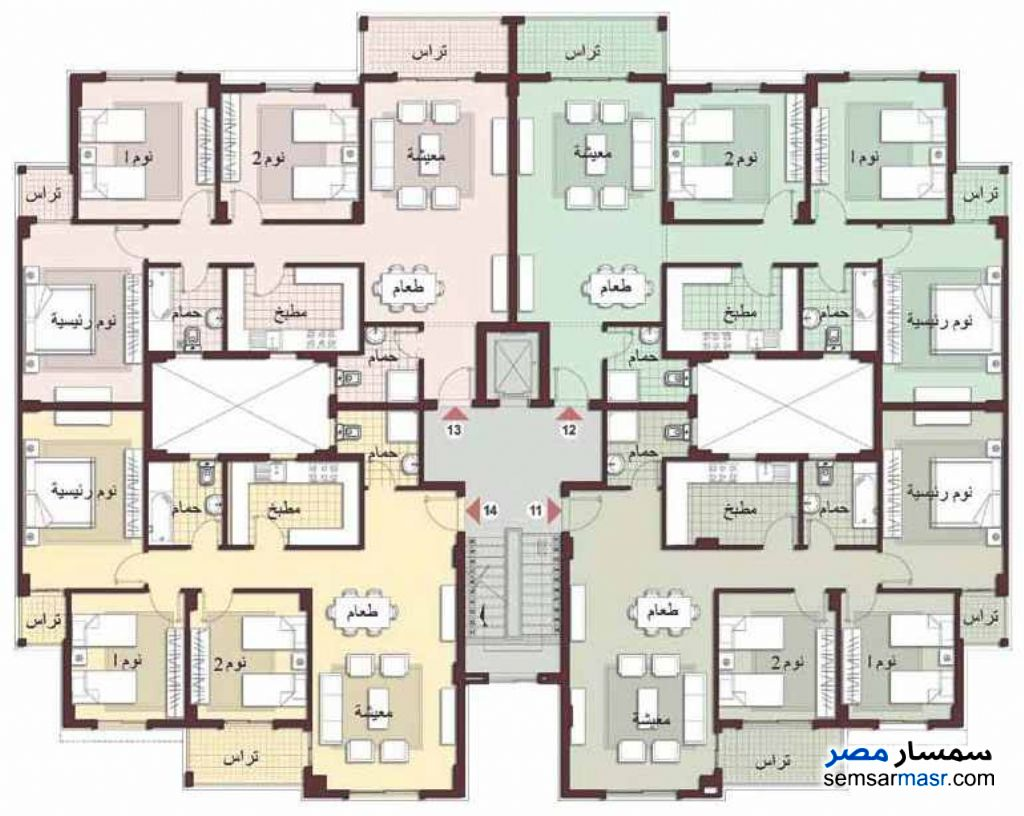 Photo 1 - Apartment 3 bedrooms 2 baths 124 sqm lux For Sale Madinaty Cairo