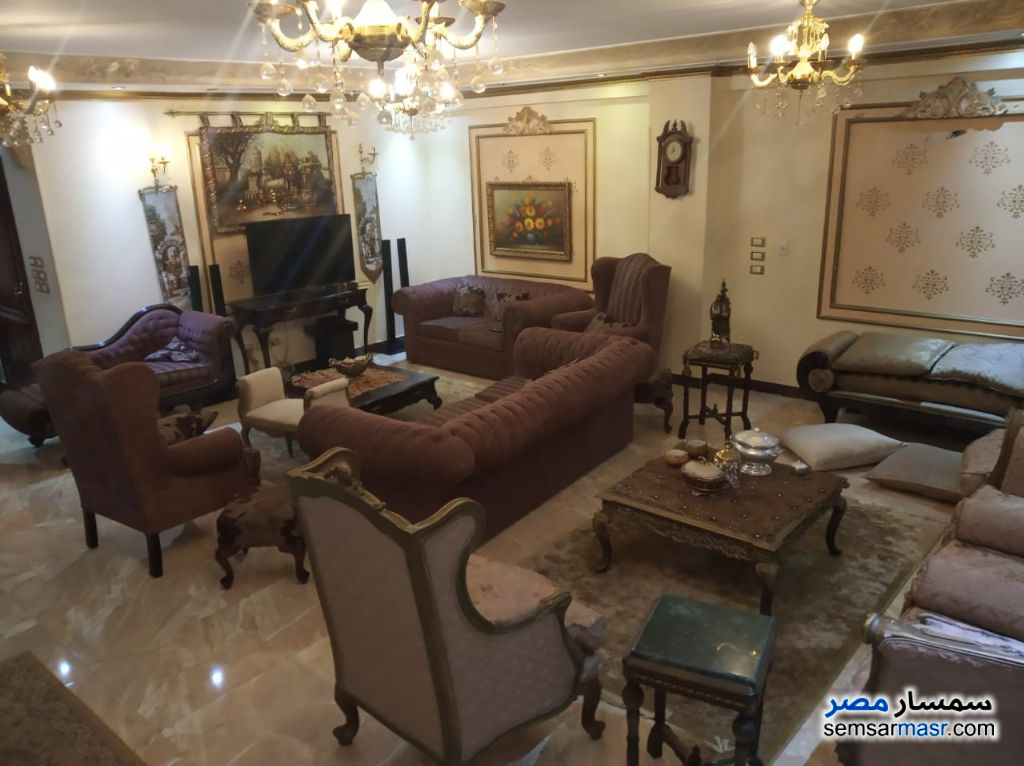 Photo 2 - Apartment 4 bedrooms 2 baths 285 sqm extra super lux For Sale El Motamayez District 6th of October